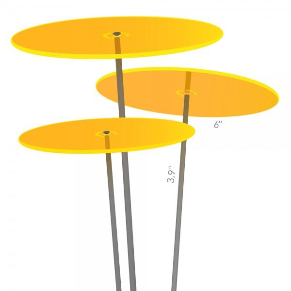 Cazador-del-sol ® medio | tres | yellow